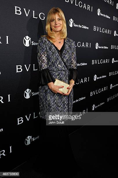 Actress Nastassja Kinski attends BVLGARI and Save The Children STOP THINK GIVE PreOscar Event at Spago on February 17 2015 in Beverly Hills California