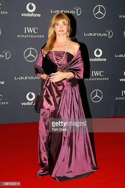 Actress Nastassja Kinski attends the 2012 Laureus World Sports Awards at Central Hall Westminster on February 6 2012 in London England