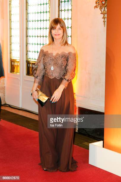 Actress Nastassja Kinski attends the premiere of the musical 'Der Gloeckner von Notre Dame' on April 9 2017 in Berlin Germany
