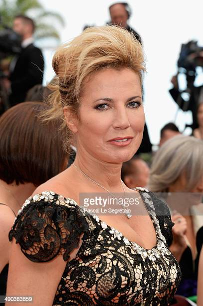 Actress Natacha Amal attends the Opening ceremony and the Grace of Monaco Premiere during the 67th Annual Cannes Film Festival on May 14 2014 in...