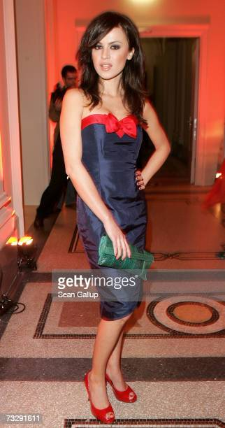Actress Natalia Avelon attends the Dom Perignon Salon party during the 57th Berlin International Film Festival on February 11 2007 in Berlin Germany