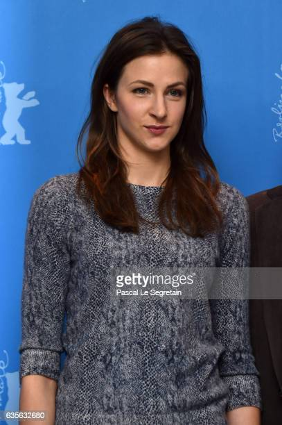 Actress Natalia Belitski attends the 'In Times of Fading Light' photo call during the 67th Berlinale International Film Festival Berlin at Grand...