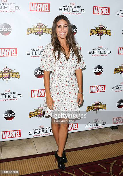 Actress Natalia CordovaBuckley attends the premiere of ABC's Agents Of SHIELD Season 4 at Pacific Theatre at The Grove on September 19 2016 in Los...