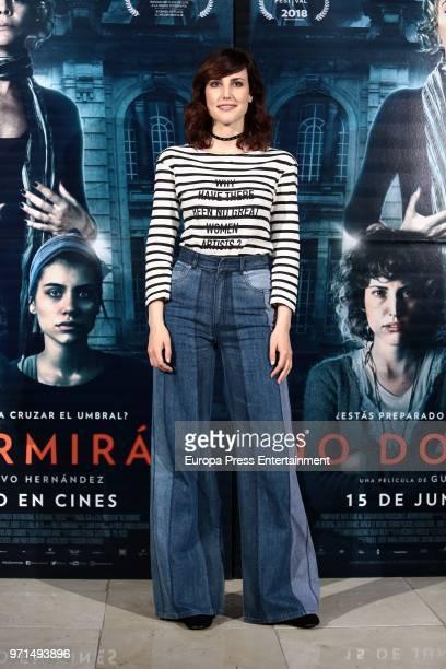 Actress Natalia de Molina attends 'No Dormiras' photocall at Renoir cinema on June 11 2018 in Madrid Spain