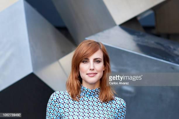 Actress Natalia de Molina attends 'Quien Te Cantara' photocall at Princesa cinema on October 22, 2018 in Madrid, Spain.