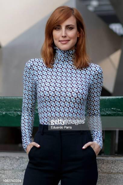 Actress Natalia de Molina attends the 'Quien te cantara' photocall at Princesa cinema on October 22, 2018 in Madrid, Spain.