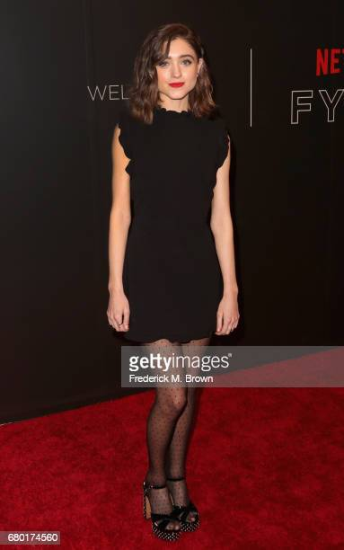 Actress Natalia Dyer arrives at the Netflix FYSee Kick Off Event at Netflix FYSee Space on May 7 2017 in Beverly Hills California