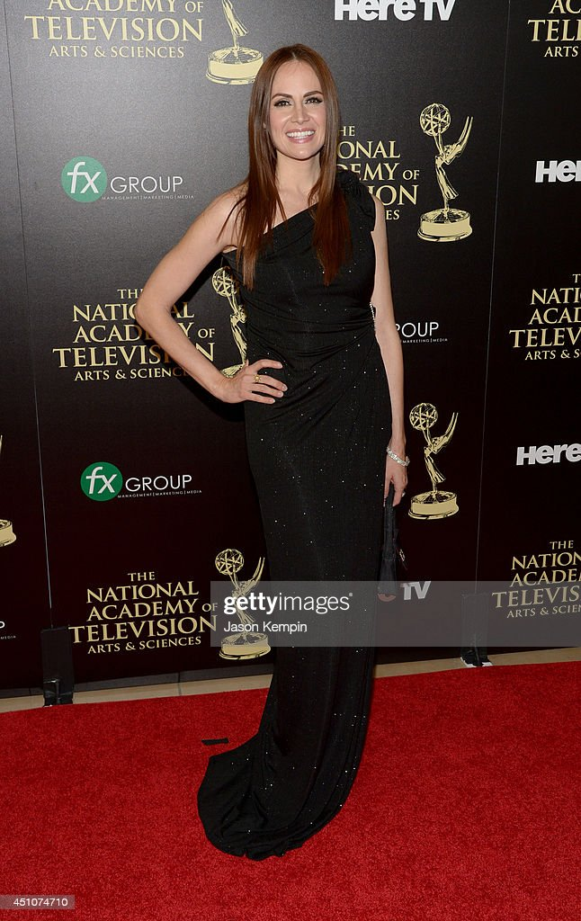 Actress Natalia Livingston attends The 41st Annual Daytime Emmy Awards at The Beverly Hilton Hotel on June 22, 2014 in Beverly Hills, California.