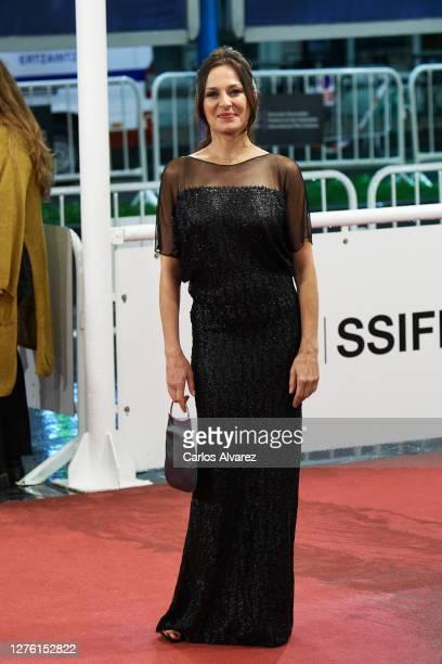 Actress Natalia Millan attends 'Dasatskisi' premiere during the 68th San Sebastian International Film Festival at the Kursaal Palace on September 23...