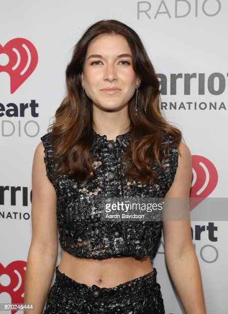 Actress Natalia Ramos attends the iHeartRadio Fiesta Latina Celebrating Our Heroes at American Airlines Arena on November 4 2017 in Miami Florida