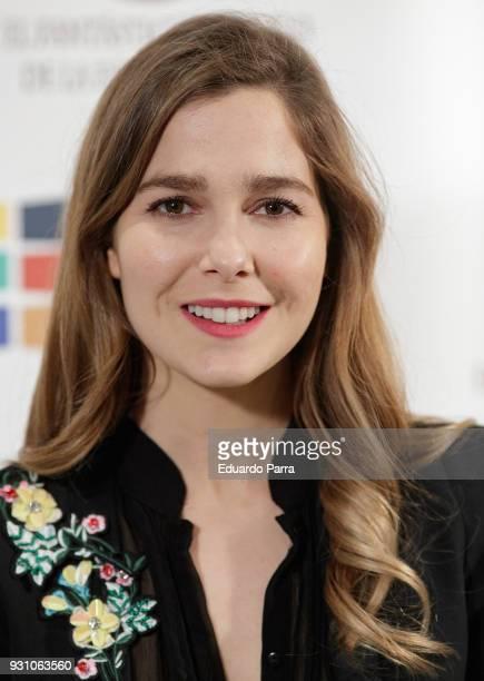 Actress Natalia Sanchez attends the 'El fantastico hidalgo' premiere at Bellas Artes cinema on March 12 2018 in Madrid Spain