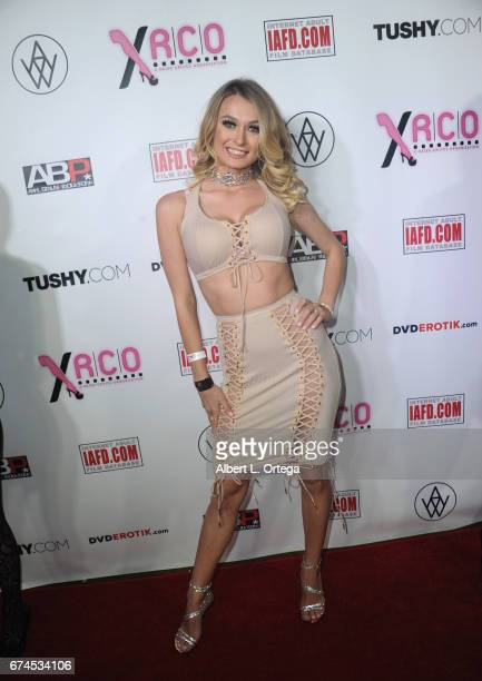 Actress Natalia Sky arrives for the 33rd Annual XRCO Awards Show held at OHM Nightclub on April 27 2017 in Hollywood California
