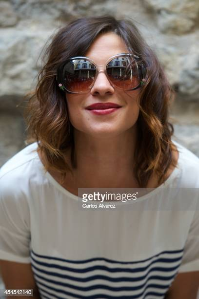 Actress Natalia Tena attends the Refugiados photocall during the 6th FesTVal Television Festival 2014 day 3 at the Villa Suso Palace on September 3...