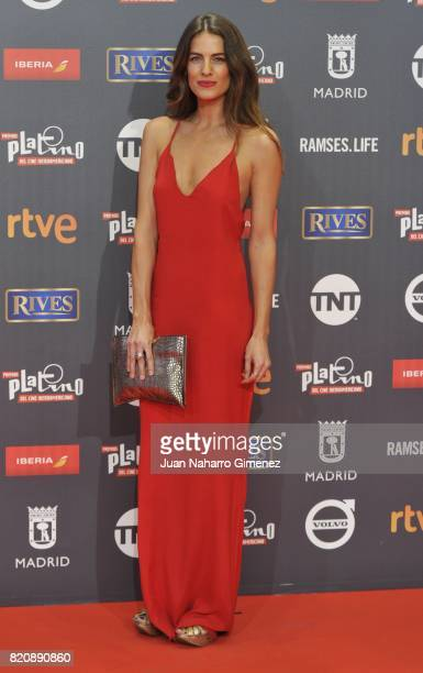 Actress Natalia Varela attends the 'Platino Awards 2017' photocall at La Caja Magica on July 22 2017 in Madrid Spain