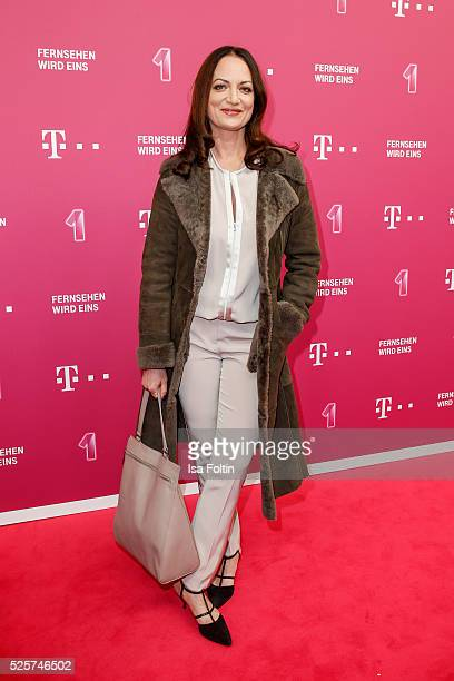 Actress Natalia Woerner attends the Telekom Entertain TV Night at Hotel Zoo on April 28 2016 in Berlin Germany