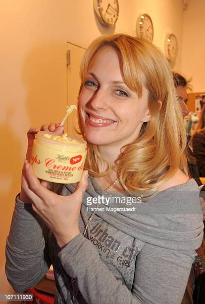 Actress Natalie Alison attend the Kiehl's Store Opening on November 24 2010 in Munich Germany