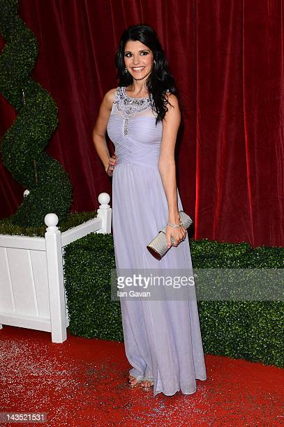 Actress Natalie Anderson attends The 2012 British Soap Awards at ITV Studios on April 28 2012 in London England