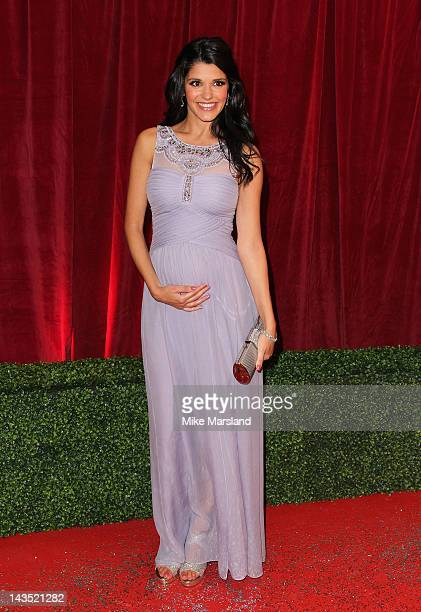 Actress Natalie Anderson attends the British Soap Awards at The London Television Centre on April 28 2012 in London England