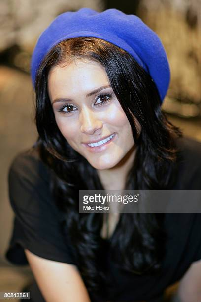 Actress Natalie Blair attends the 'Stuff That Rocks' Gift Villa at the Hilton Hotel on April 24 2008 in Sydney Australia