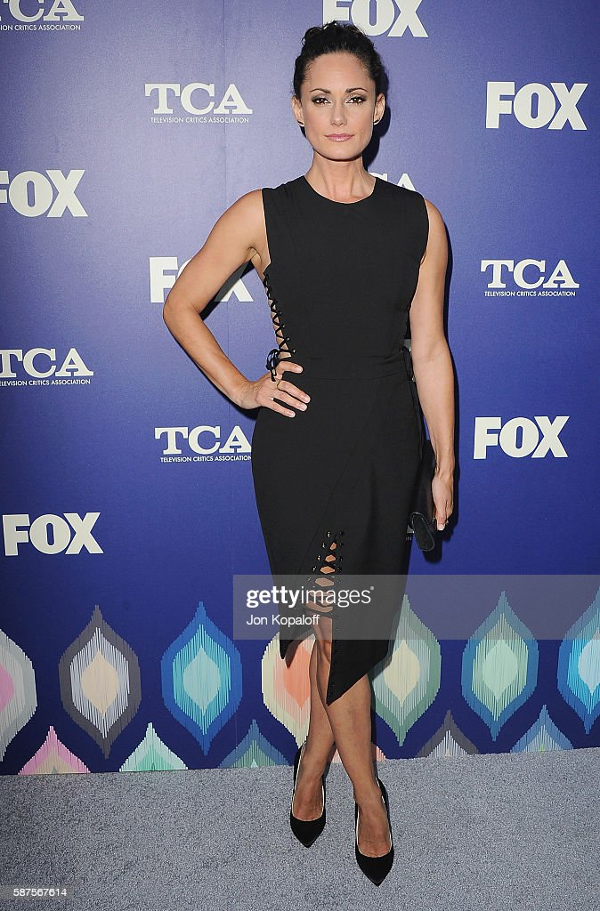 Actress Natalie Brown arrives at the FOX Summer TCA Press Tour on August 8, 2016 in Los Angeles, California.