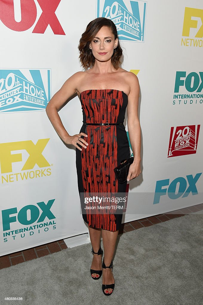 Actress Natalie Brown attends the 20th Century Fox party during Comic-Con International 2015 at Andaz Hotel on July 10, 2015 in San Diego, California.