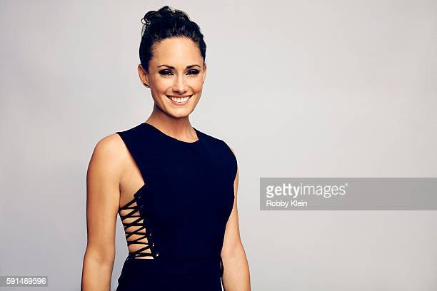 Actress Natalie Brown from FX's 'The Strain' poses for a portrait at the FOX Summer TCA Press Tour at Soho House on August 9 2016 in Los Angeles...