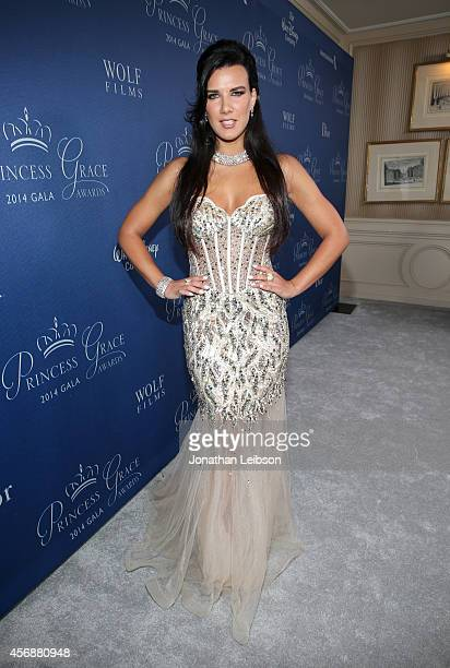 Actress Natalie Burn attends the 2014 Princess Grace Awards Gala with presenting sponsor Christian Dior Couture at the Beverly Wilshire Four Seasons...