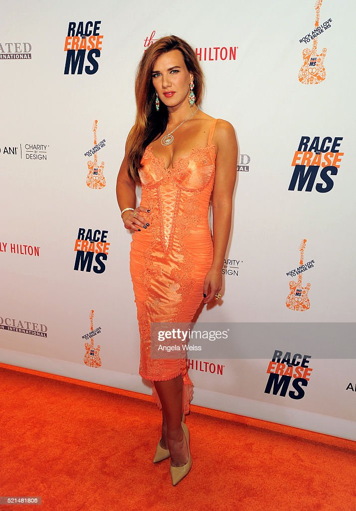 Actress Natalie Burn attends the 23rd Annual Race To Erase MS Gala at The Beverly Hilton Hotel on April 15, 2016 in Beverly Hills, California.