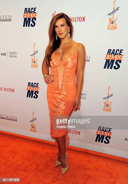 Actress Natalie Burn attends the 23rd Annual Race To Erase MS Gala at The Beverly Hilton Hotel on April 15 2016 in Beverly Hills California