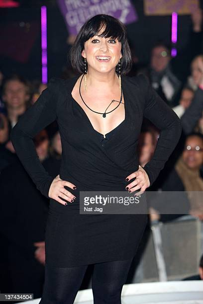 Actress Natalie Cassidy is the fifth person to get evicted from Celebrity Big Brother at Elstree Studios on January 20 2012 in Borehamwood England