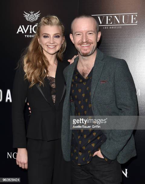 Actress Natalie Dormer and director Anthony Byrne attend the premiere of Vertical Entertainment's 'In Darkness' at ArcLight Hollywood on May 23 2018...