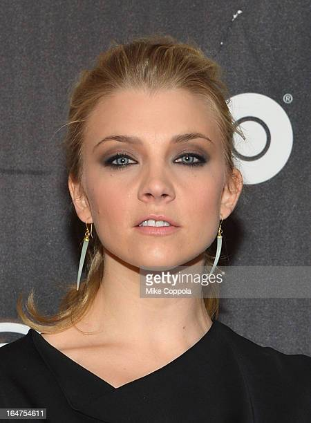Actress Natalie Dormer attends Game Of Thrones The Exhibition New York Opening at 3 West 57th Avenue on March 27 2013 in New York City