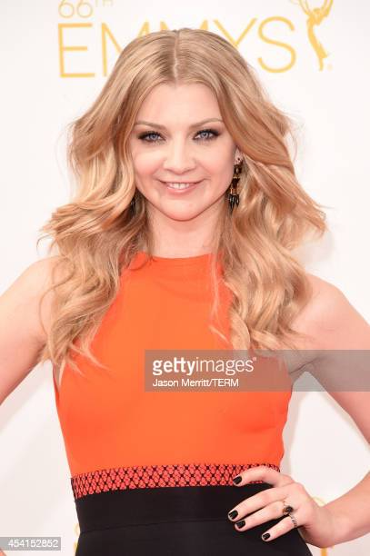 Actress Natalie Dormer attends the 66th Annual Primetime Emmy Awards held at Nokia Theatre L.A. Live on August 25, 2014 in Los Angeles, California.