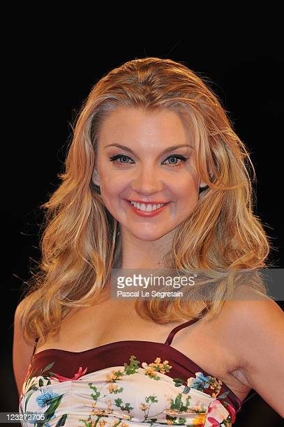 Actress Natalie Dormer attends the WE premiere at the Palazzo Del Cinema during the 68th Venice Film Festival on September 1 2011 in Venice Italy