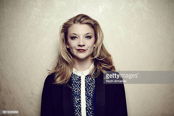 Actress Natalie Dormer is photographed for Self Assignment on October 3 2015 in Dinard France