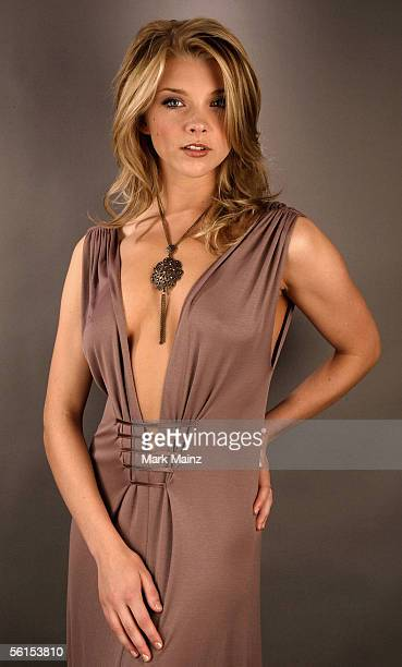 Actress Natalie Dormer of the film 'Casanova' poses for a portrait during the AFI Fest 2005 presented by Audi at the Arclight Theatre November 13...