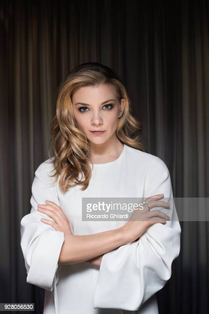 Actress Natalie Dormer poses for a portrait during the 68th Berlin International Film Festival on February 2018 in Berlin Germany