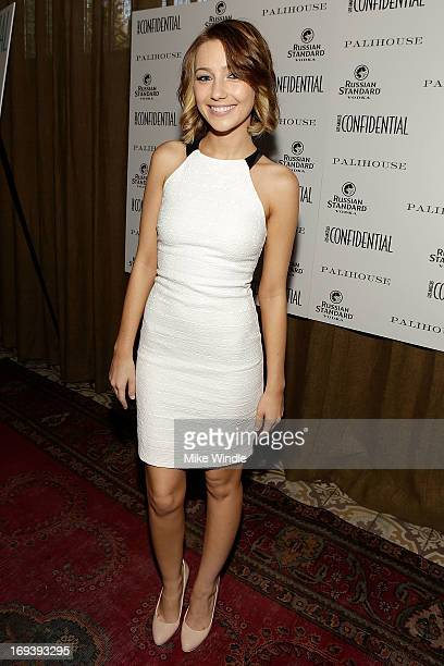 Actress Natalie Dreyfuss attends Los Angeles Confidential Magazine celebrates cover star Portia de Rossi with Russian Standard Vodka at Palihouse on...
