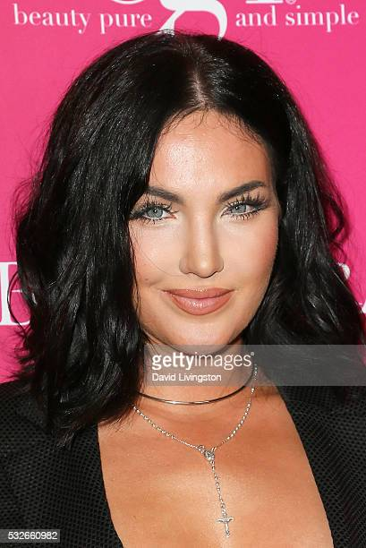 Actress Natalie Halcro arrives at the OK Magazine's So Sexy LA at the Skybar at Mondrian on May 18 2016 in West Hollywood California