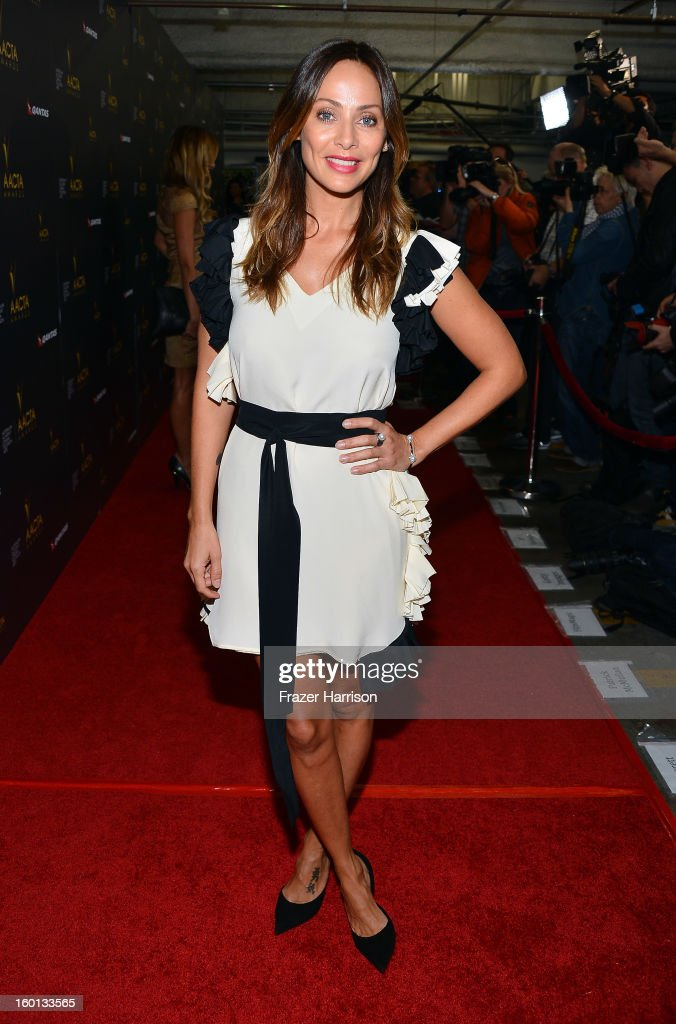 Actress Natalie Imbruglia arrives at the Australian Academy Of Cinema And Television Arts' 2nd AACTA International Awards at Soho House on January 26, 2013 in West Hollywood, California.