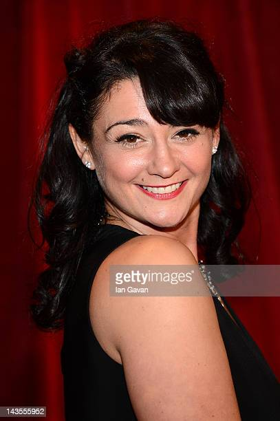 Actress Natalie J Robb attends The 2012 British Soap Awards at ITV Studios on April 28 2012 in London England
