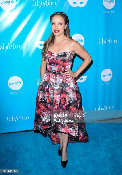 Actress Natalie Lander attends the 5th Annual UNICEF Masquerade Ball at Clifton's Republic on October 27 2017 in Los Angeles California