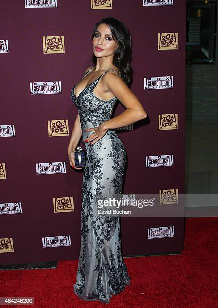 Actress Natalie Loren attends the 21st Century Fox and Fox Searchlight Oscar Party at BOA Steakhouse on February 22 2015 in West Hollywood California