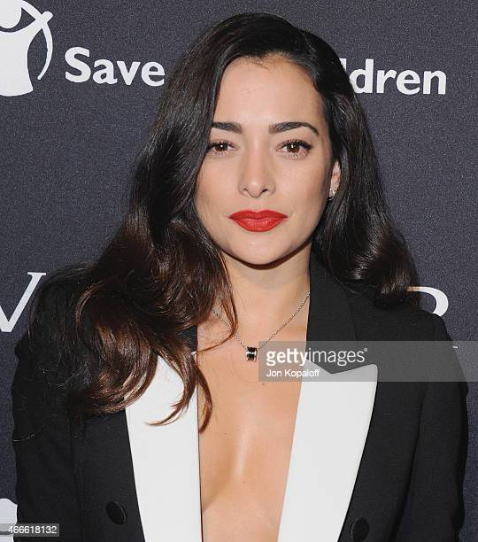 Actress Natalie Martinez arrives at BVLGARI And Save The Children STOP THINK GIVE PreOscar Event at Spago on February 17 2015 in Beverly Hills...