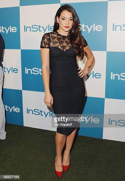 Actress Natalie Martinez arrives at the 11th Annual InStyle Summer Soiree at The London Hotel on August 8, 2012 in West Hollywood, California.