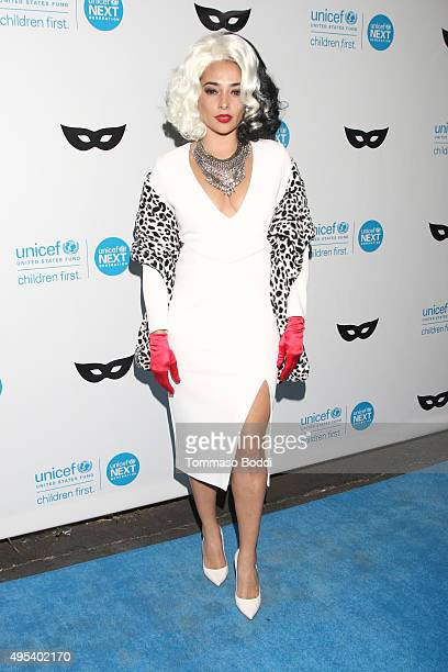 Actress Natalie Martinez at the UNICEF Next Generation Third Annual UNICEF Black White Masquerade Ball benefiting UNICEF's lifesaving programs...