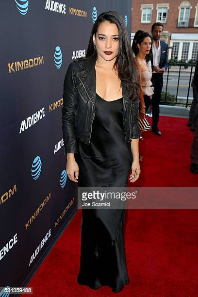 Actress Natalie Martinez attends as ATT Audience Network celebrates KINGDOM on May 25 2016 in Los Angeles California