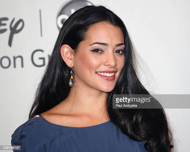 "Actress Natalie Martinez attends the Disney ABC Television Groups ""Summer Press Tour"" - Day Arrivals at The Beverly Hilton hotel on August 1, 2010 in..."