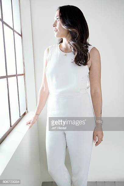 Actress Natalie Martinez is photographed for TV Guide Magazine on January 14 2015 in Pasadena California