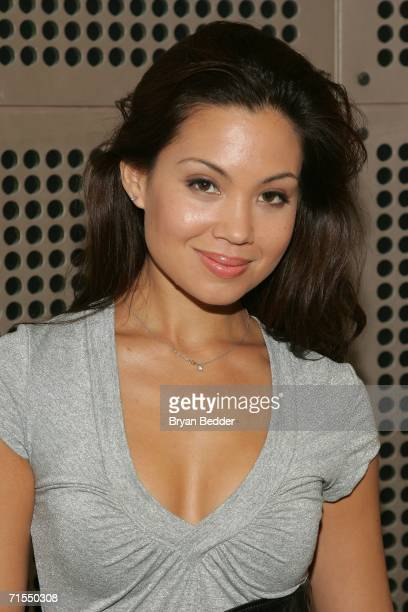 Actress Natalie Mendoza attends the Lionsgate Films promotion for the film The Descent July 31 2006 in New York City
